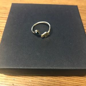 Alex and Ani Gold Elephant Ring
